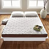 Rio Home Fashions tataME Bed Memory Foam Mattress/Topper, California King, White