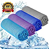 "Best Cooling Towels - YQXCC Cooling Towel 3 Pcs (47""x12"") Microfiber Towel Review"