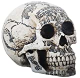 SUMMIT COLLECTION Paranormal Skull Head with Ouija Symbols Collectible Figurine Review