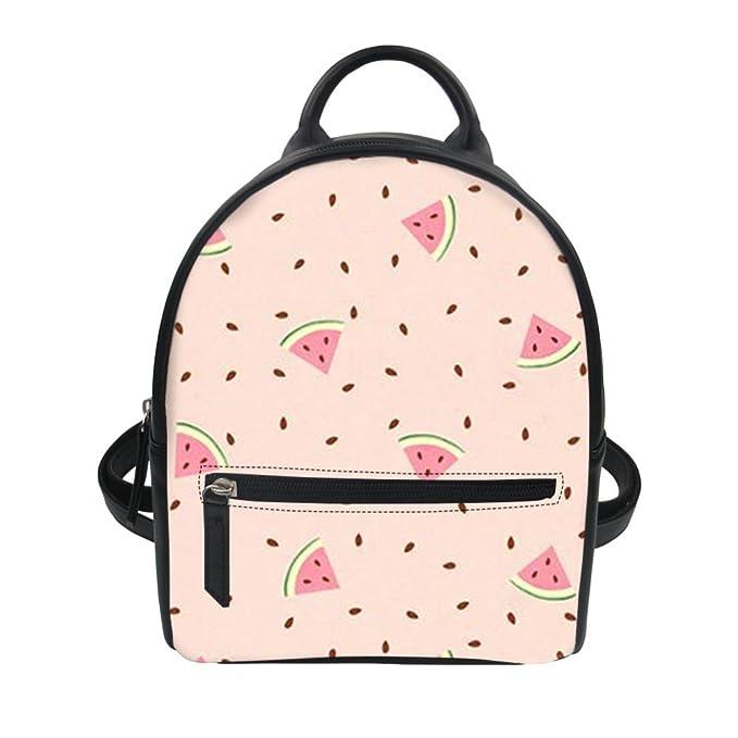 WU ZHI Señoras Mochilas Mochilas Escolares PU mochilas Para Estudiantes Monederos Personalidad Creatividad Patrones,A-OneSize: Amazon.es: Ropa y accesorios