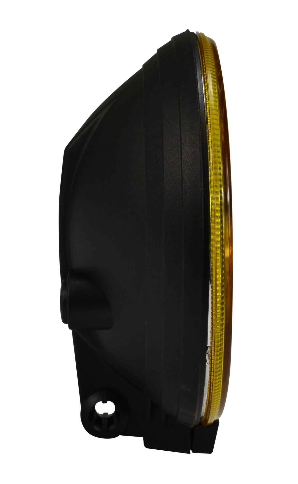 HELLA 005750512 500 Series Amber Driving Lamp (Single) by HELLA (Image #3)