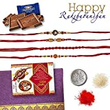 SnapGalaxy 4 Rakhi Set Chocolates RKC25
