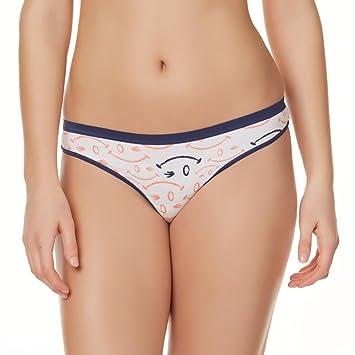 Amazon.com : Joe Boxer Women's 6-Pack Thong Panties Size 9 ...