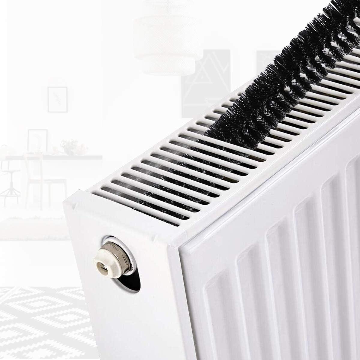 Cepillo del radiador, AIEVE Cepillo de limpieza del radiador largo ...