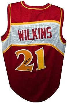 Dominique Wilkins Signed Autographed Atlanta Hawks Jersey TRISTAR COA