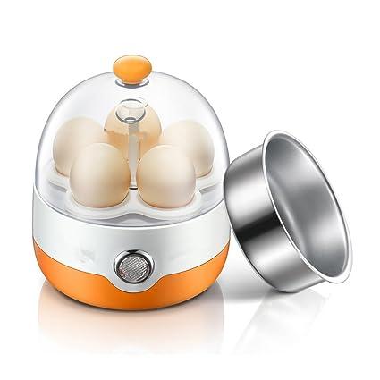 Calentador Eléctrico del Huevo Y Cazador Furtivo De Acero Inoxidable para Cocinar Huevos Capacidad 5 Huevo