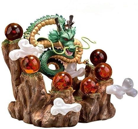 XINRUIBO Conjunto Completo de Dragon Ball Shenron Figuras de ...