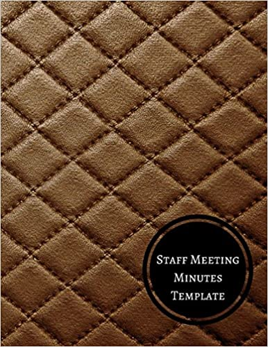 amazon staff meeting minutes template minutes log journals for