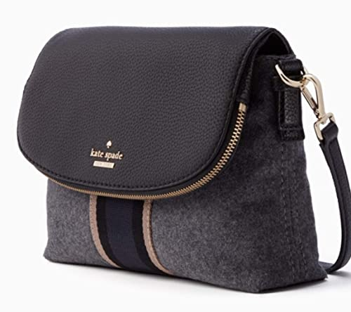 653365c87 Kate Spade New York Women's Jackson Street Web Harlyn Charcoal One Size:  Amazon.co.uk: Shoes & Bags