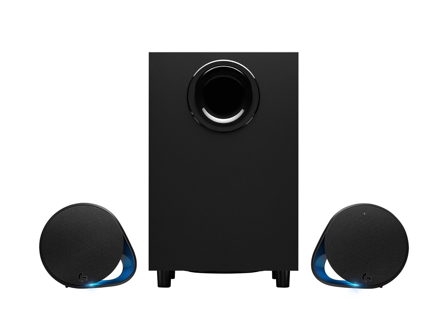 Logitech G560 LIGHTSYNC PC Gaming Speakers with Game Driven RGB Lighting 980-001300