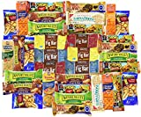 Blue Ribbon Care Package 36 Count Ultimate Sampler Mixed Bars, Crackers, Fruit & Nut Snacks Box for Office, Meetings, Schools, Military, College, Friends & Family