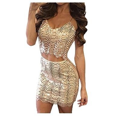 Elecenty Damen Club-Kleid Bodycon Bandage Tief V-Ausschnitt Sommerkleid  solide Rock Mädchen Kleider 46e462f423