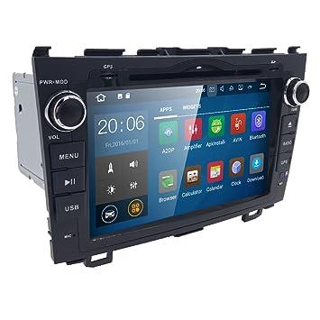 Coche Estéreo GPS, eunavi 8 Inch Android 7.1 Kit de doble DIN Radio de coche