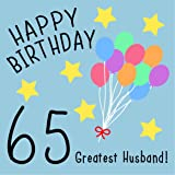 Husband 65th Birthday Card