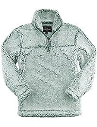Unisex Sherpa Quarter-Zip Pullover (Q10)