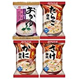 Amano Foods freeze-dried porridge and rice porridge four 48 meals set (domestic rice used) (instant full-scale seafood swollen porridge)