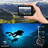 Ocamo 1080P HD Waterproof Action Camera WiFi Video Camcorder DV Outdoor Sports Recorder