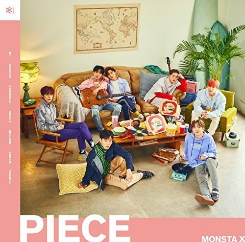 CD : Monsta X - Piece: Version A (With DVD, Limited Edition, Japan - Import, 2PC)