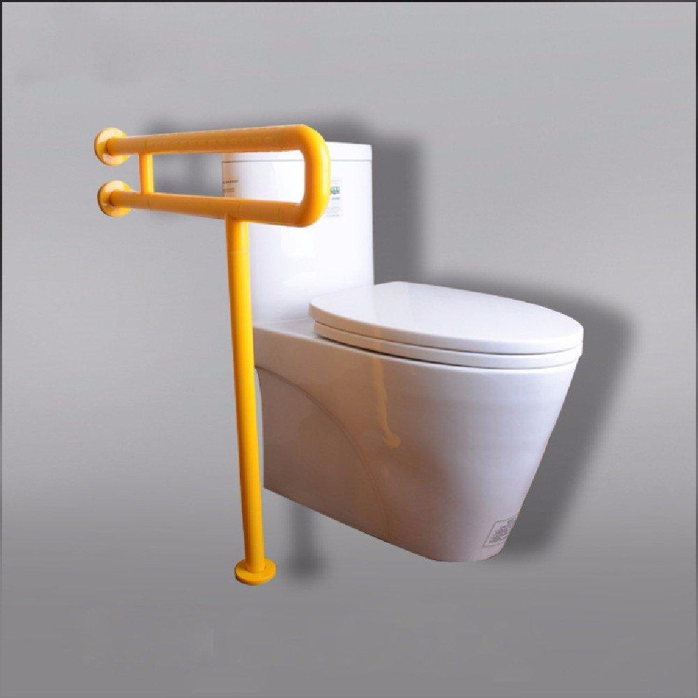 aquí tiene la última amarillo HQLCX Barandilla de bañera Barandilla De Sin Barreras Barreras Barreras Luminoso Un Asiento De Baño para Personas De Edad con Discapacidad De Seguridad Apoyabrazos,Amarillo  perfecto