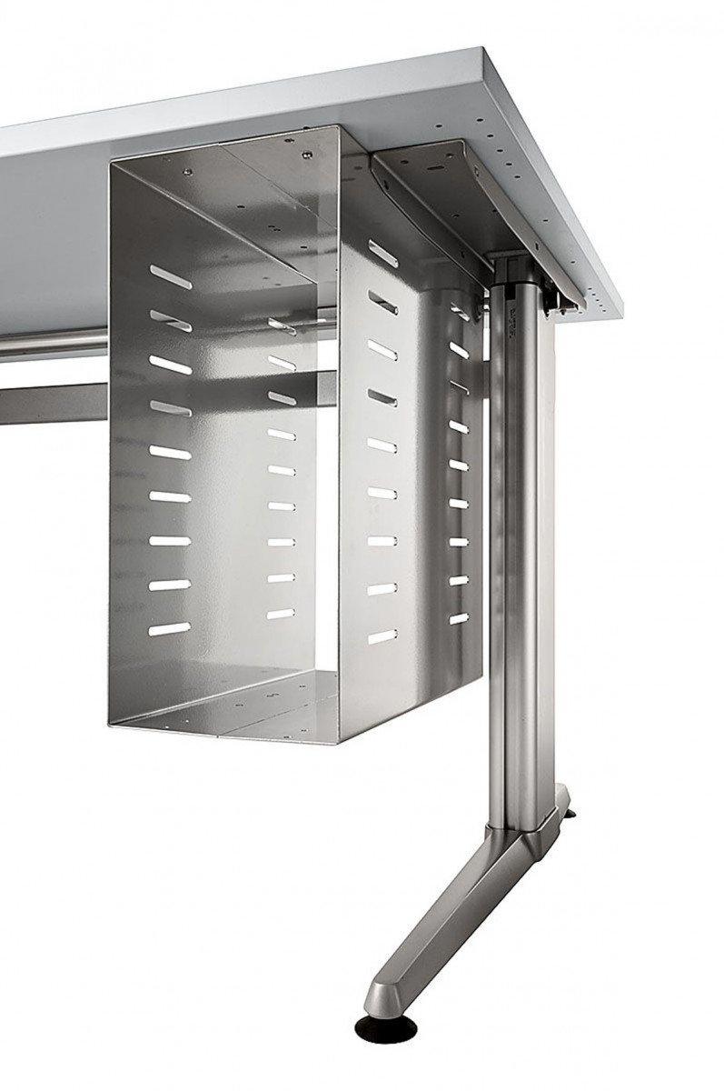 PC-Halterung PC-Halterung PC-Halterung Hammerbacher PC-Halter für Schreibtisch Metall Silber 02817b