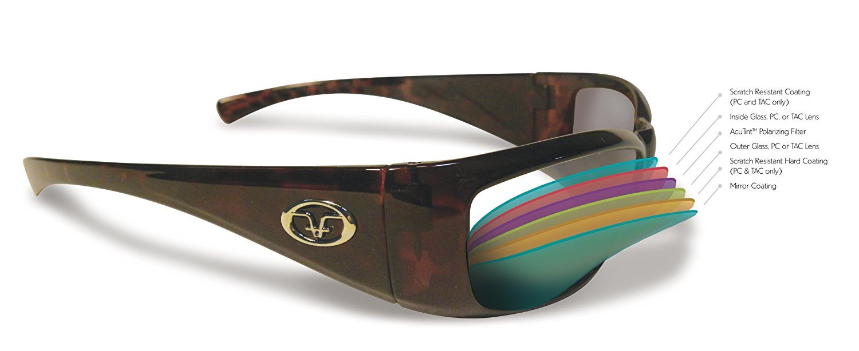 5662c467b7d Amazon.com   Flying Fisherman Nassau Bifocal Master Polarized Polcarbonate Bifocal  Angler Sunglasses (Matte Black Frame