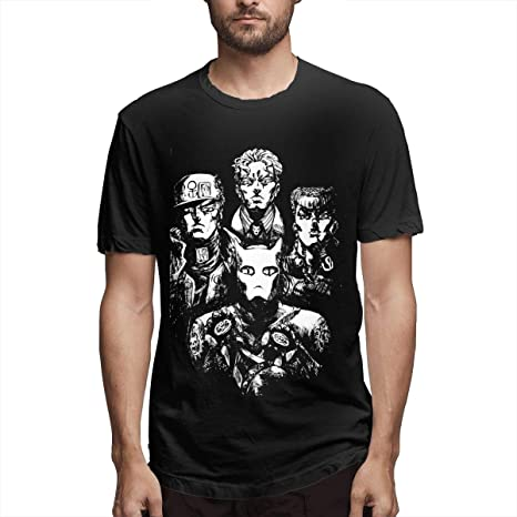 Anime JoJo Bizarre Adventure T Shirt for Men