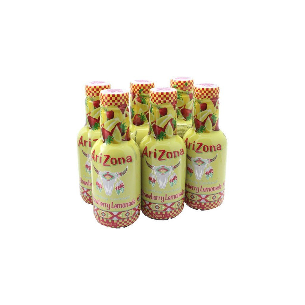 Arizona Strawberry Lemonade 50cl (pack de 6) ARIPJSL