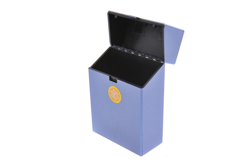 Quantum Abacus Caja/Funda para Paquetes de Cigarrillos, de Aluminio y plástico, Apto para tamaños estándar, Mod. 758-06 (DE): Amazon.es: Equipaje