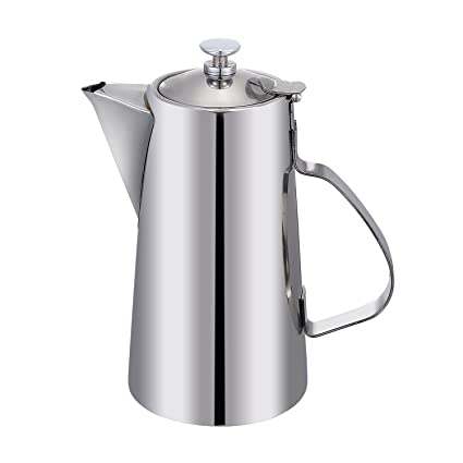 Amazoncom Ksendalo Water Pot Stainless Steel Pitchers With Lid