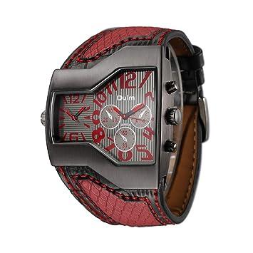 SW Watches Relojes Militares del Cuarzo De Los Hombres con Los Relojes Deportivos Punk De La