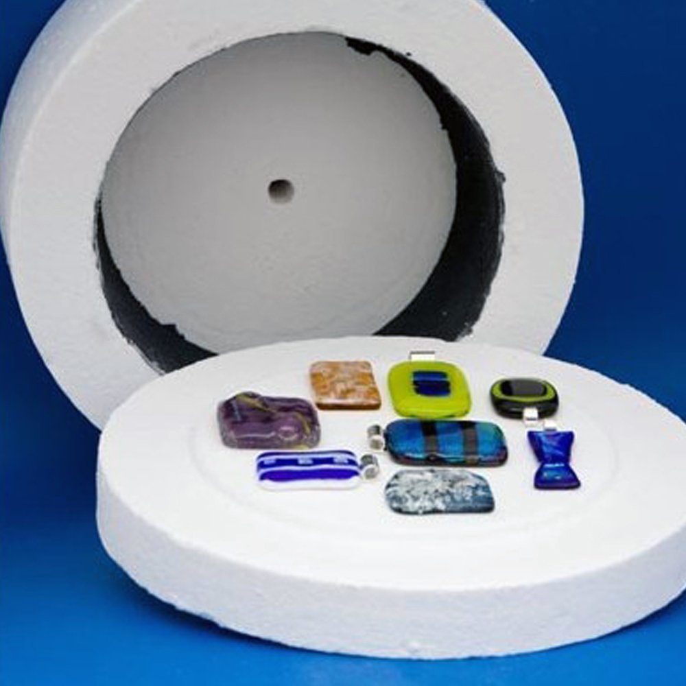 ''-kiln Extra Large Microwave for Fusing Glass by ''-kiln