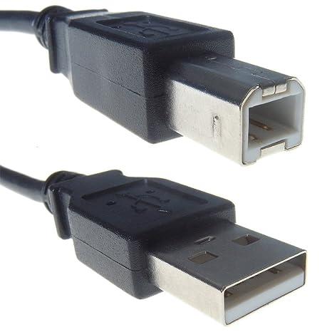 0,5 m a 5 m (negro, azul o beige) USB 2.0 de A a B cable ...