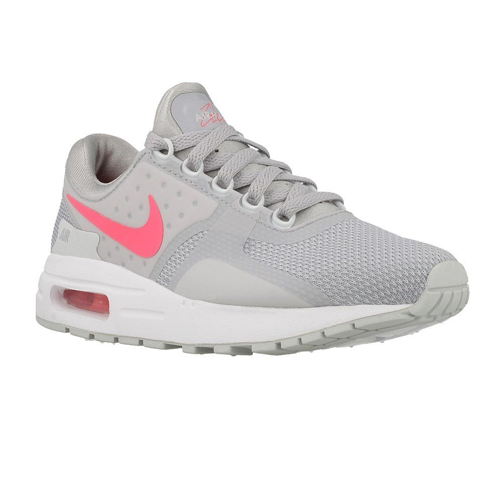 cc8261a362 Nike Air Max Zero Essential GS Running Trainers 881229 Sneakers Shoes (UK 4  US 4. 5Y EU 36. 5, Wolf Grey Racer Pink 003): Buy Online at Low Prices in  India ...
