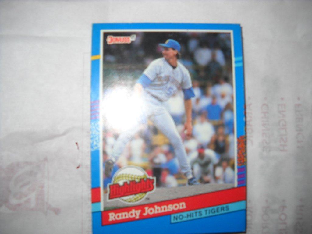 "Amazon.com: Randy Johnson 1991 Donruss ""Highlights"" ..."