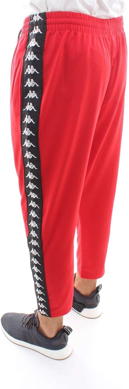 Kappa 3031WR0 Pantalones de chándal Hombre Rojo M: Amazon.es: Ropa ...