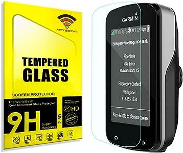 actecom® Protector Pantalla para Garmin Edge 820 Cristal Vidrio Templado: Amazon.es: Electrónica
