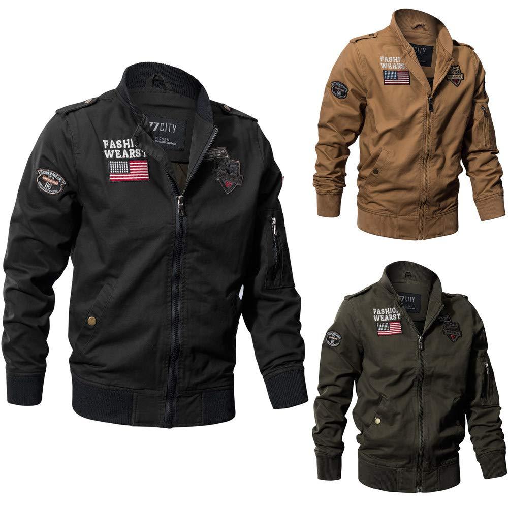 Amazon.com: Traje de vuelo para hombre, chaqueta de invierno ...