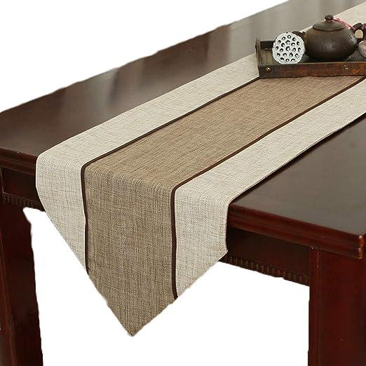 Table Runner, Mesa De Color Sólido para Mesa De Comedor, Mesa De ...