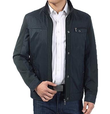 Vertical Zipper Collier Yaancun Veste Durable 2017 Classique Homme SxqnvX7w