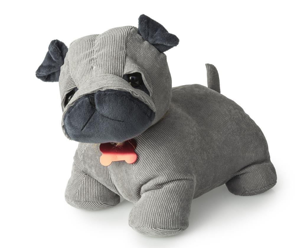Charlie The Dog Doorstop With Bone Tag Collar Blue Canyon Ukasnhktn9346