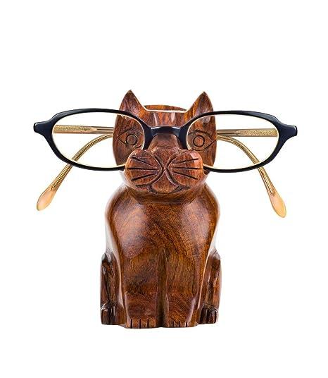 Amazon.com: Bonito soporte para gatos de palisandro hecho a ...