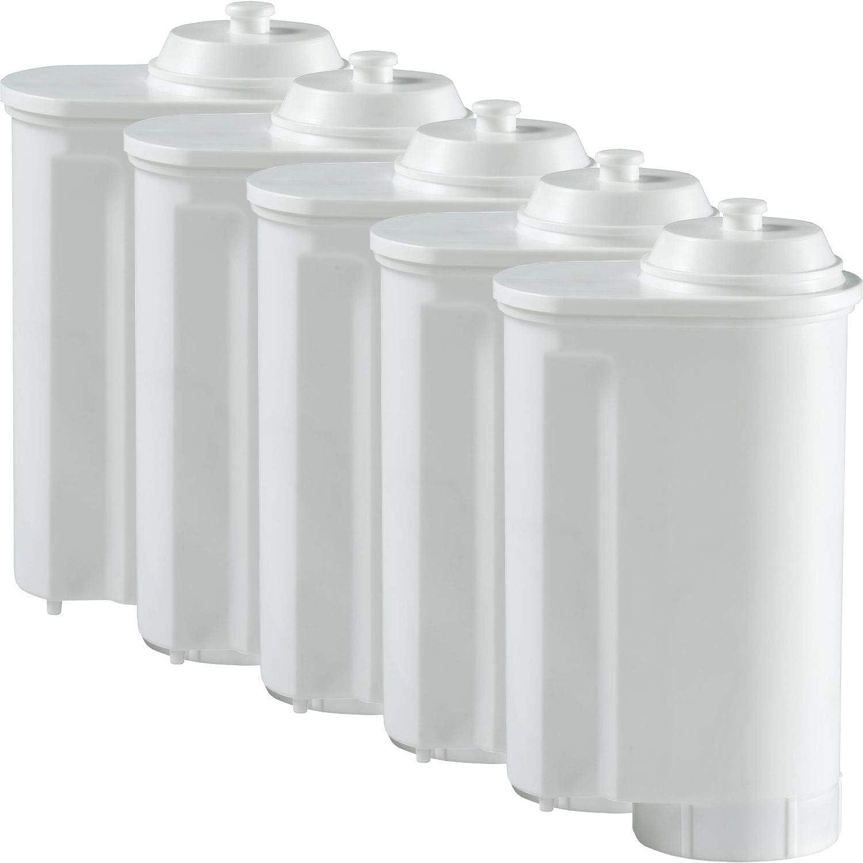 Neff und CV7760N TK7 Gaggenau C77V60 TCC78 Siemens EQ7 5er Pack Scanpart Wasserfilter passend f/ür Ger/äte von Bosch Modelle: TCA7