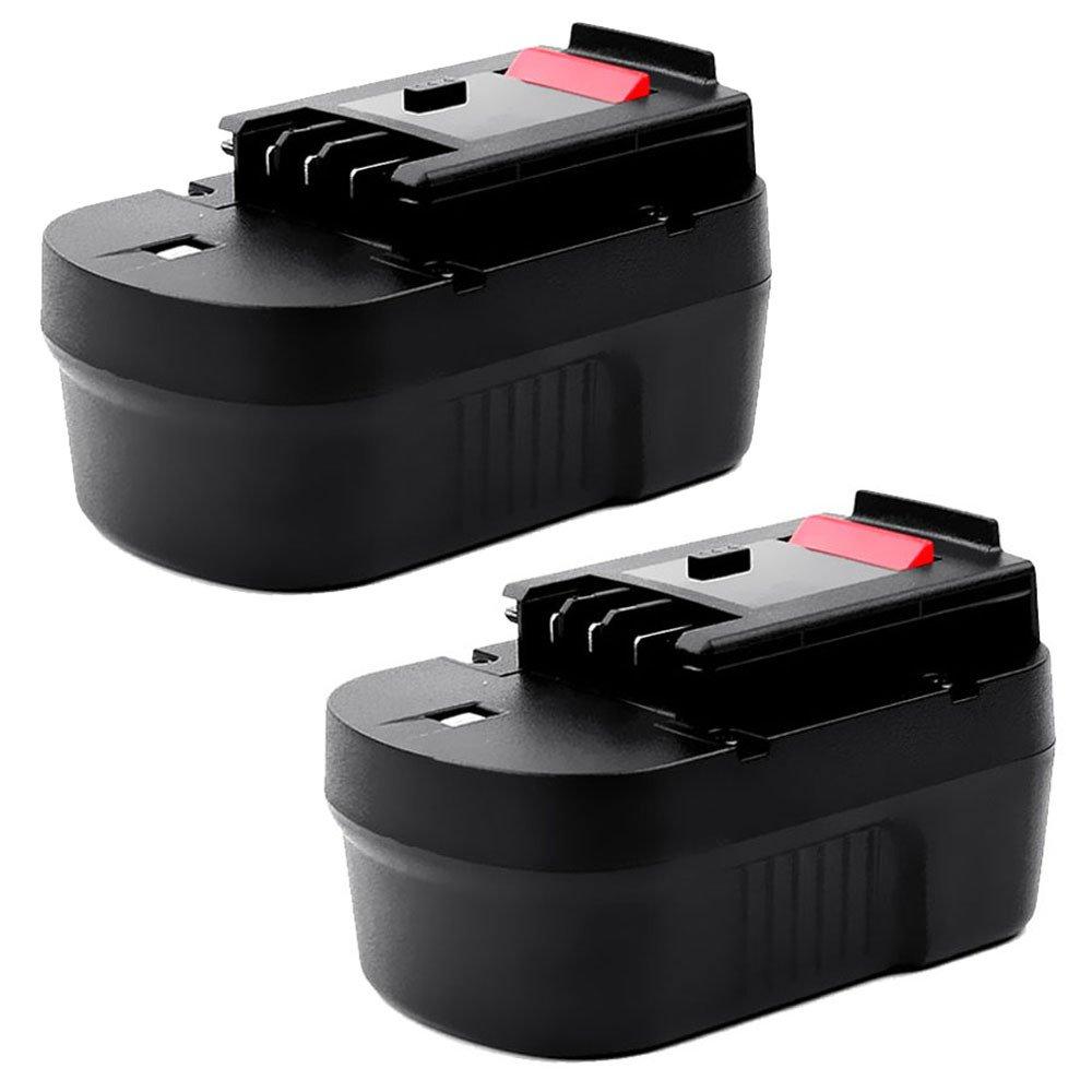 Cellonic® (2X Batteria (14.4V, 3Ah, NiMH) Compatibile con nero & Decker CD14S   CD14SFK   CL14   CP14   CP141   CP141K - A14, A1714, HPB14 Batterie di Ricambio accu Sostituzione Strumento, sostituto