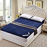 mattress mattress thickened folding mattress single-and double tatami bedding bed mat-N 90x200cm(35x79inch)