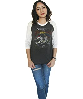 Ronnie James Dio Rainbow Black Sabbath inspired Women/'s T-Shirt