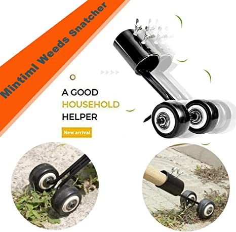 Mintiml Weed Snatcher No-Bend Weeding Gardening Weeds Snatcher Grass Cutter Tool