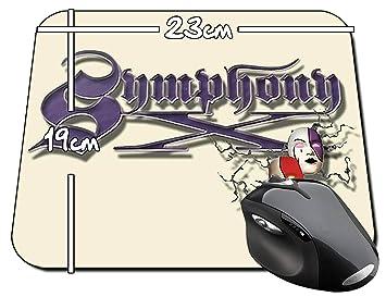 Symphony X Logo A Alfombrilla Mousepad PC: Amazon.es ...