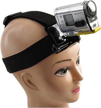 Accessories Head Strap Mount Belt Elastic Headband for Sony Action Cam Camera