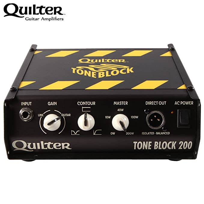 Amazon.com: Quilter Tone Block 200 Amp Head w/ Accessories: Musical Instruments