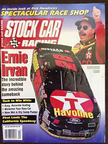 Stock Car Racing Magazine October 1996 Ernie Irvan